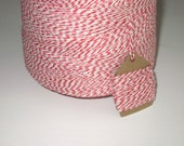 50 Yards of Red and White Baker's Twine