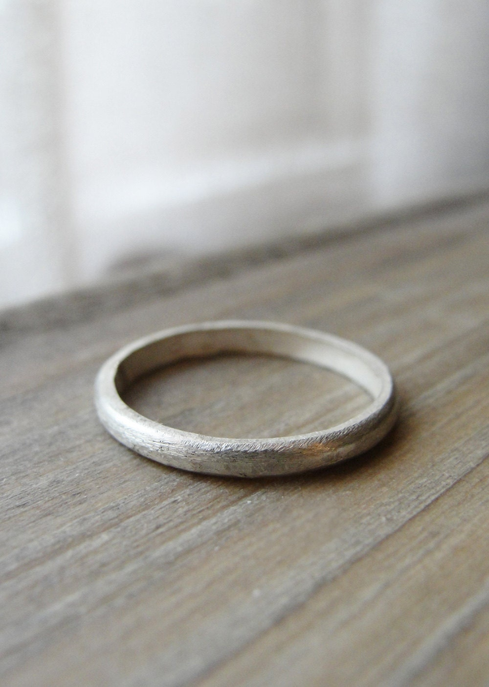 sterling silver band simple silver ring by oliveyewjewels