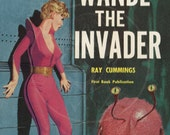 Wandl the Invader  - 10x15 Giclée Canvas Print of Vintage Pulp Science Fiction Paperback