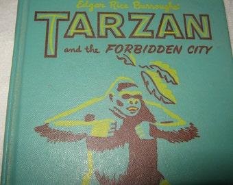 Tarzan and the Forbidden City Vintage Book