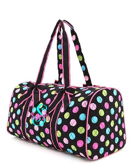 personalized duffel bag dance bag or overnight bag