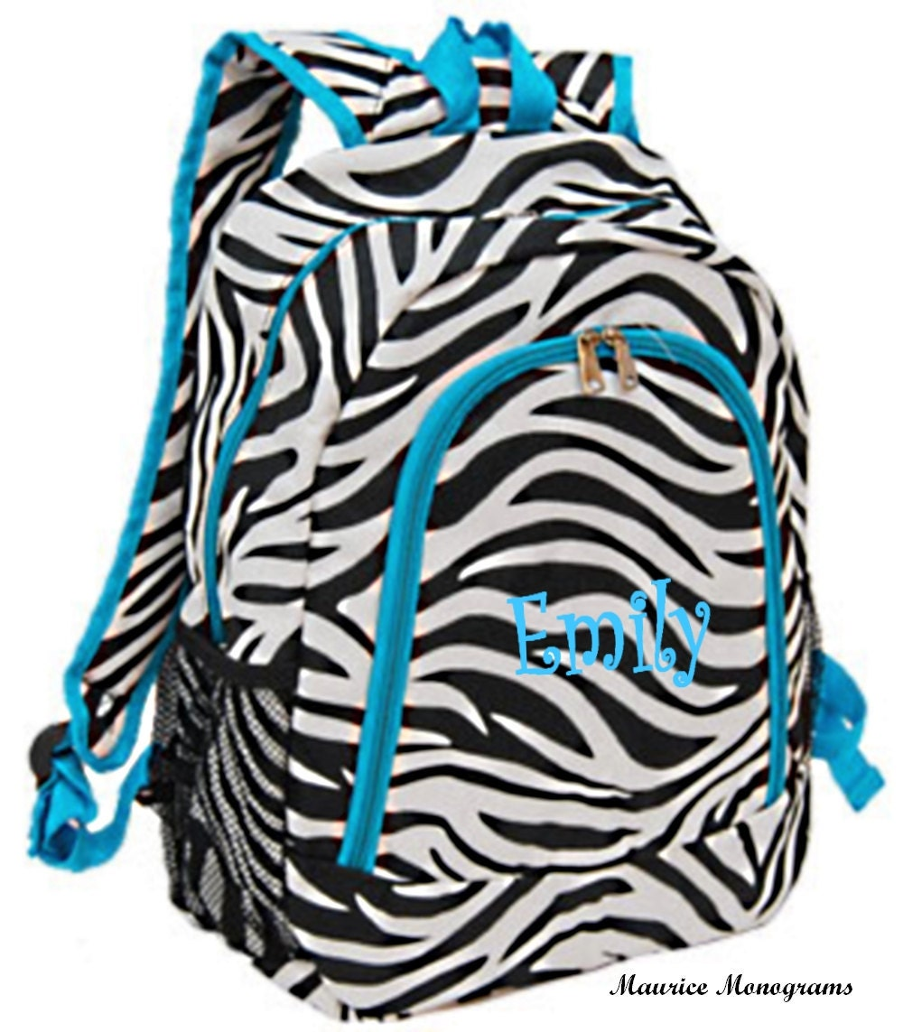 Zebra Backpacks For Girls - Crazy Backpacks