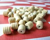 Lemon Cylinder Beads