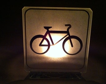 Bicycle Candle Holder / Bougeoir bicyclette