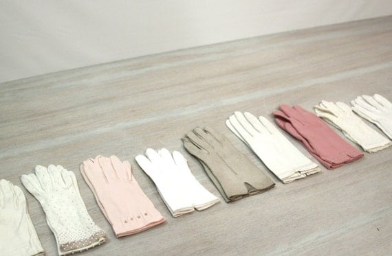 Nine Pair of Gloves with Box