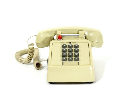 Hot Line Push Button Phone