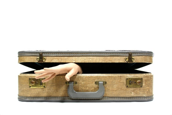 RESERVED Suitcase