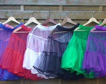 Petticoat Underskirt - Available in 6 Colors