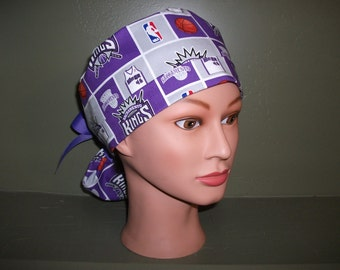 Kings ponytail scrub cap
