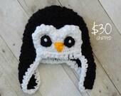 Bulky Penguin Bomber Made to order nb-12m