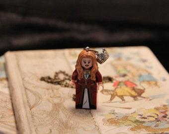 Pirate Queen Adventurer Geek Girl Necklace