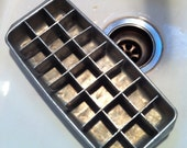 Old fashioned ICE CUBE tray