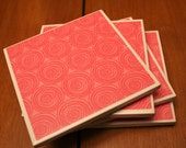 Tile Coasters - Dizzy
