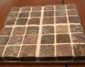 Mosaic Tile Trivet - Bronze Slate