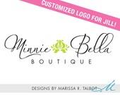 Customized Logo Design for Minnie Bella Boutique