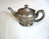 Vintage Silver Electroplate Saint Francis Hospital Teapot
