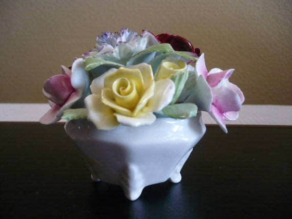 Royal Doulton Bouquet Of Flowers Made In England By