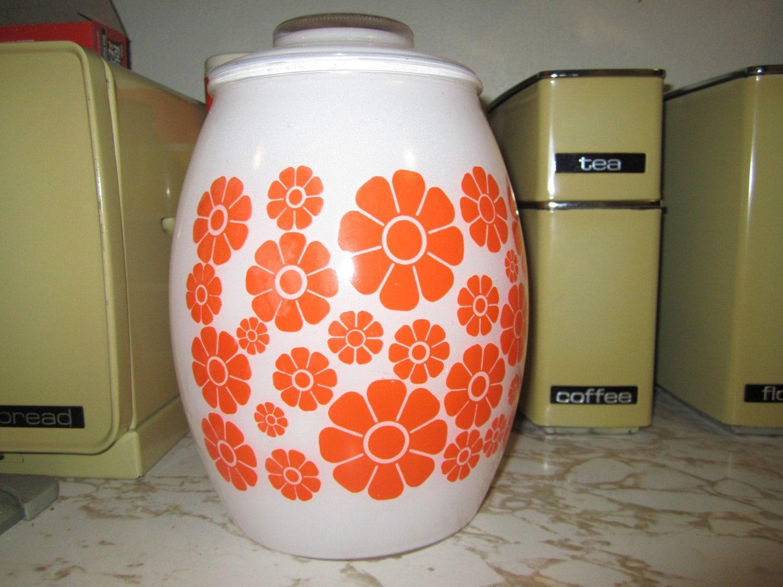 Awesome Vintage Retro Bartlett Collins Cookie Jar Total