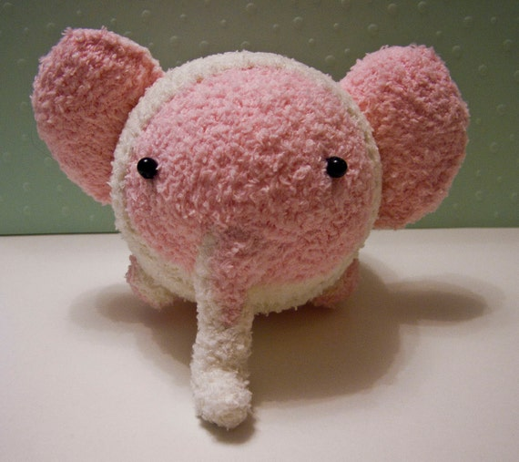 Flump the Fluffy Sock Elephant