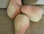"Primitive Pears ""Set of Three"""