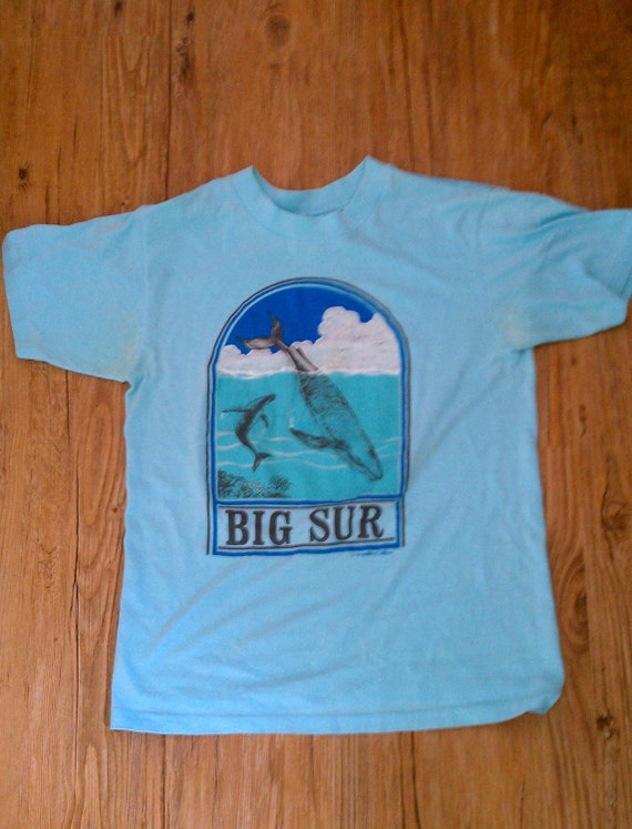 vintage california big sur t shirt tee shirt mens medium. Black Bedroom Furniture Sets. Home Design Ideas