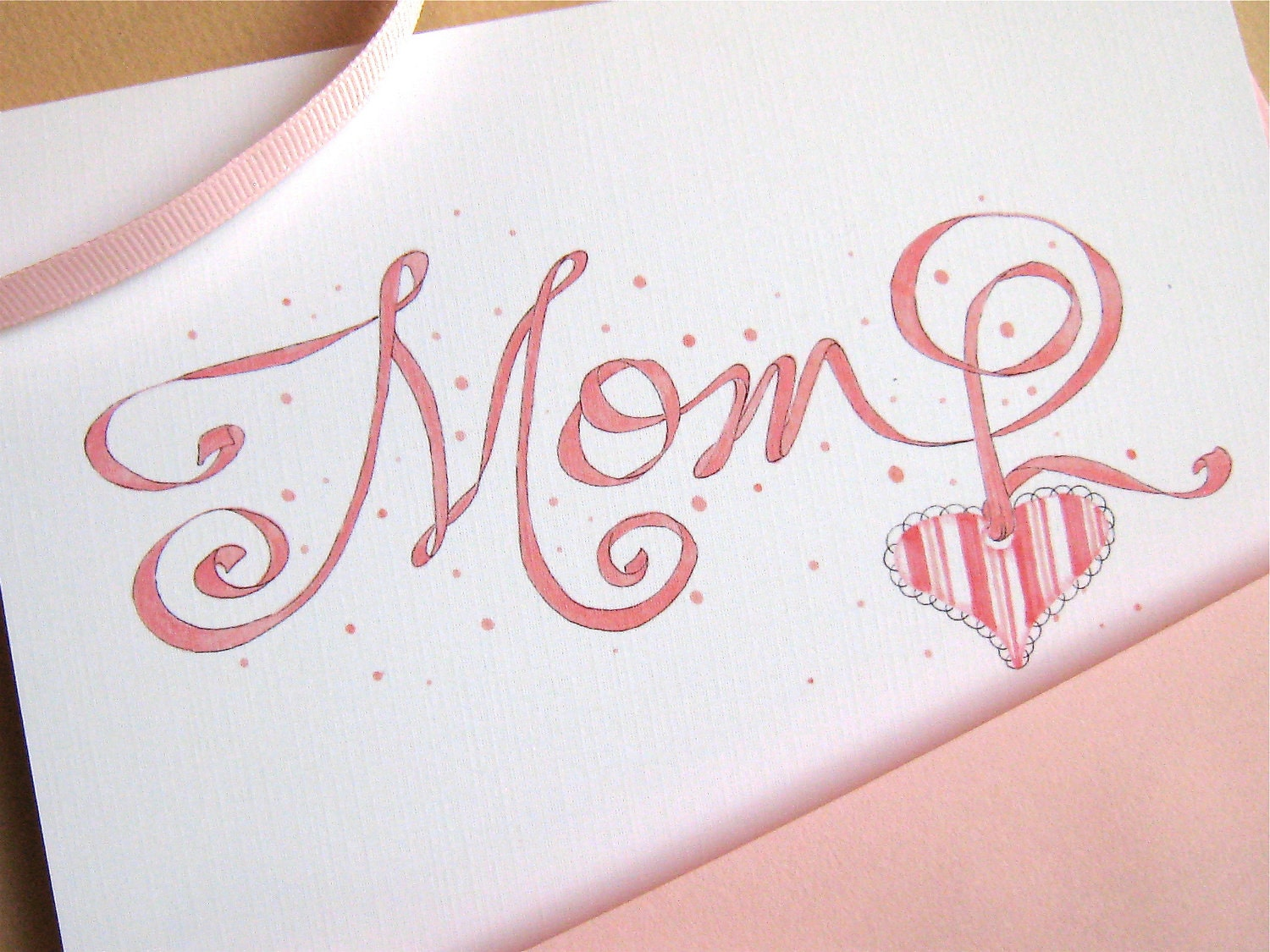 Mom birthday card for mother gift