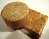 Oatmeal Milk and Honey Soap Bar  Sweet Cream Soap Bar Organic Vegan - Bars only 4 left