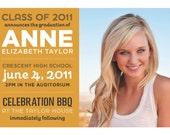 custom photo graduation announcement - fun