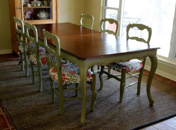 Vintage French Country Dining SetHold for Elizabeth