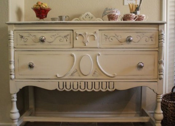 Vintage Painted Buffet or Dresser (On Hold for Autumn)