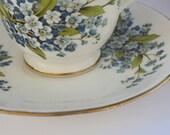 Pretty Flower Tea Cup - Vintage
