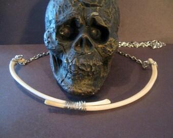 Coyote Rib Bone Necklace ( Rib Bone)