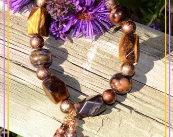 Tan Tigerseye Bracelet
