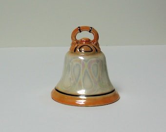 Czech Bell with Iridescent Glaze - PRICE REDUCED