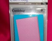 2331604- Swiss Dots Cuttlebug  A2 Embossing Folder