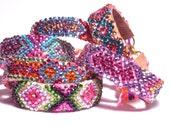 BUY 2 GET 3 -  SALE  Rhinestone Friendship Bracelets Star Series (Made to Order)