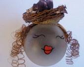Glass Ornament  Girlene-Robin