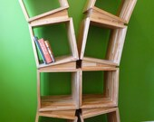 Wedge Bookcase