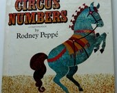 Circus Numbers-Vintage Children's Book