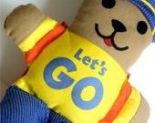 Let's Go Bear with Book-vintage toy 1980s