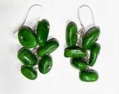 Magnesite Waterfall Earrings