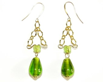 The Color of Spring Earrings