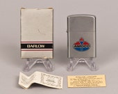 Working 1960s Amoco Pocket Lighter in Original Box NOS