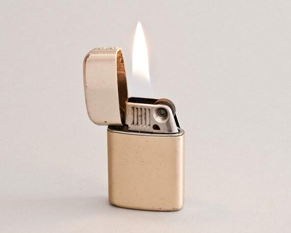 Vintage Gold Ronson Typhoon Pocket Lighter