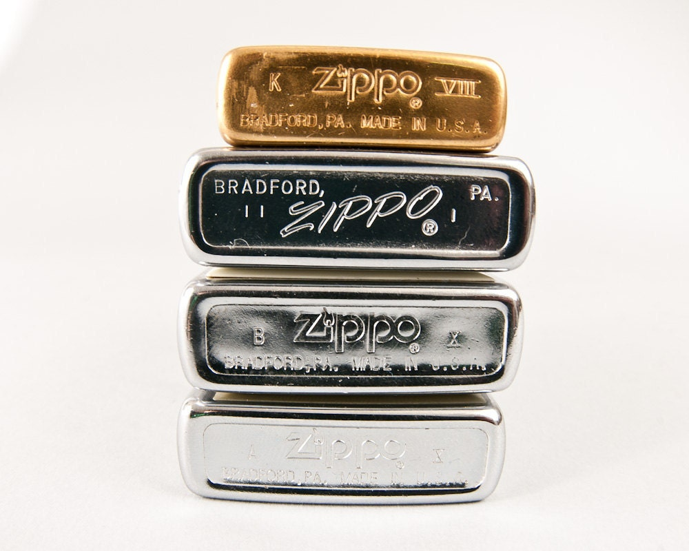 Date and Patent codes are key to dating vintage Zippo lighters