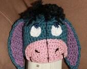 Eeyore inspired beanie (pattern)