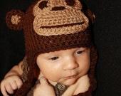 Mr, Monkey hat (pattern)