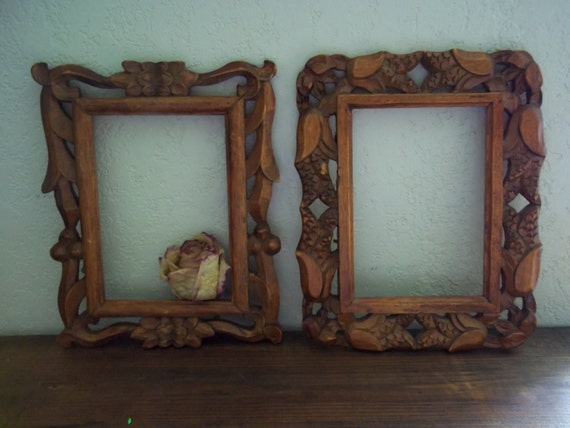 wood frames carved