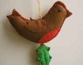 Felt Robin Sewing Kit - DIY Craft Kit