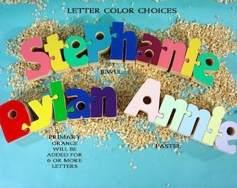 Interlocking 10-15 letter Name Puzzle